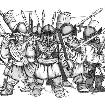 English Civil War Dwarves
