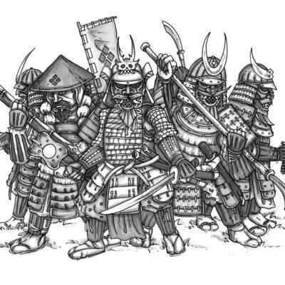 Samurai Dwarves