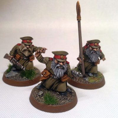 WW1 Dwarves and Halflings