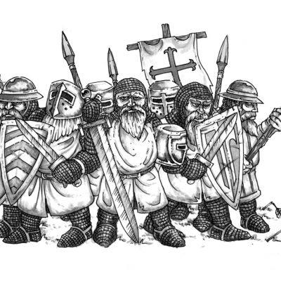 Crusader Dwarves
