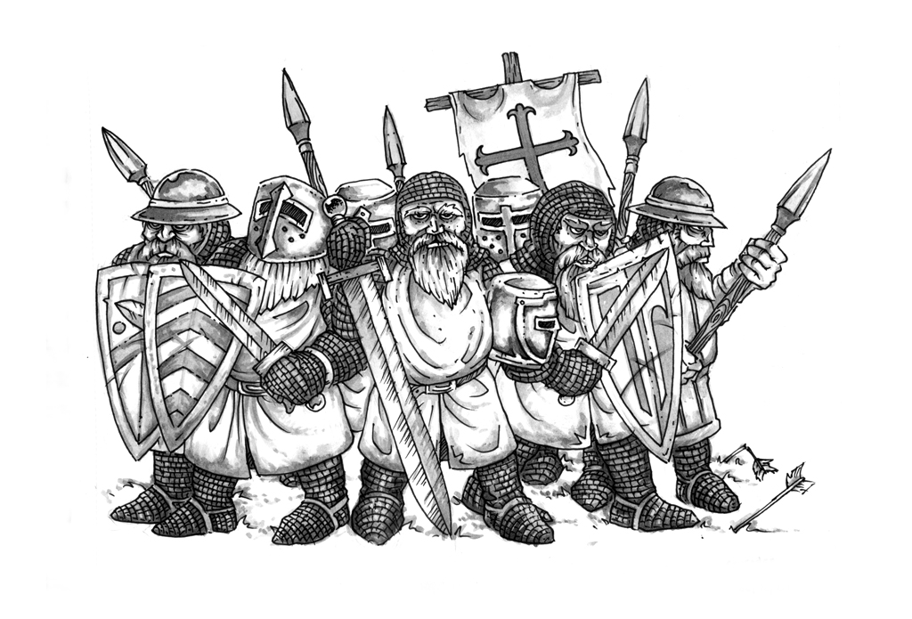 Crusader Dwarves
