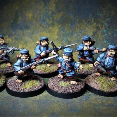 Weird War Halflings (British and French)