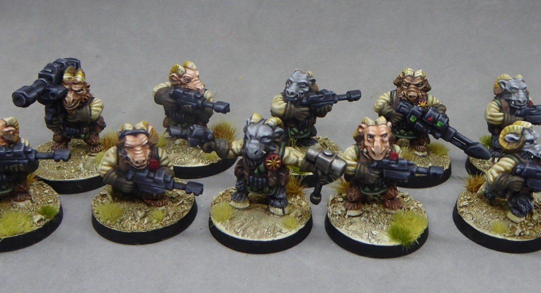 Space Dwarf Beastmen!